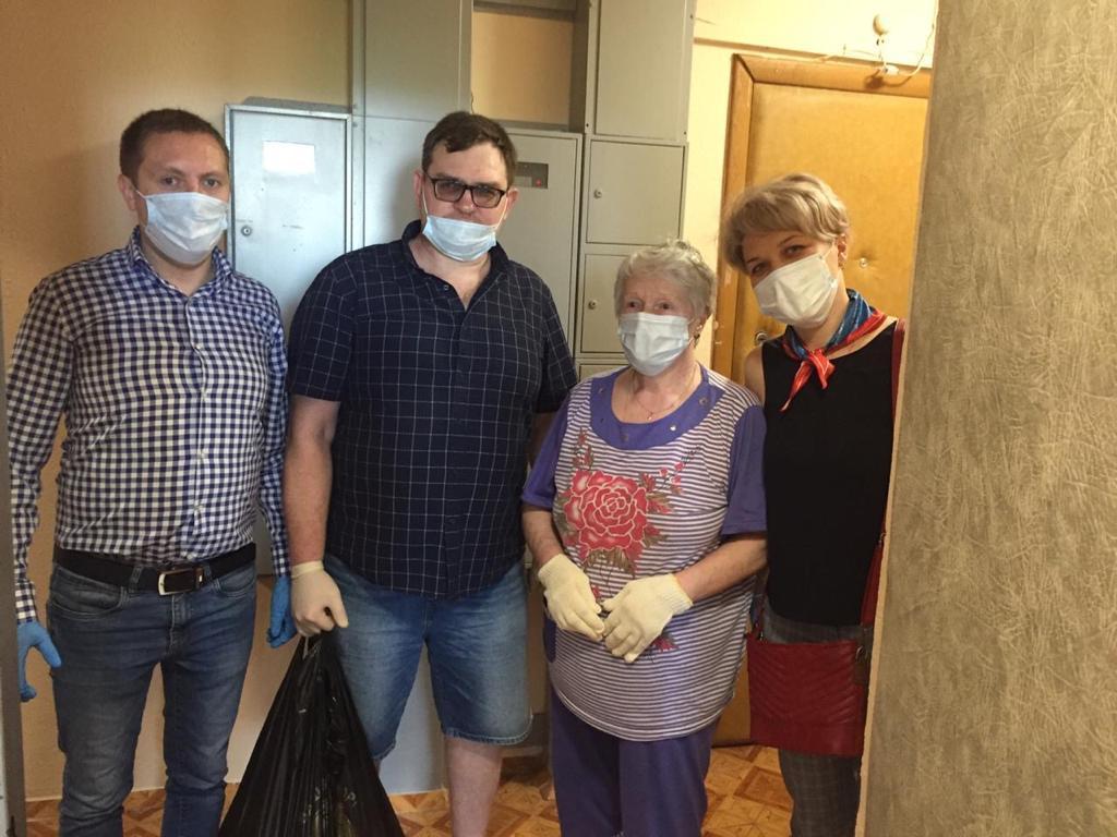 Помощь нуждающимся людям из Москвы (район Выхино, Раменское, Королев)