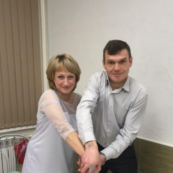 Оксана и Олег