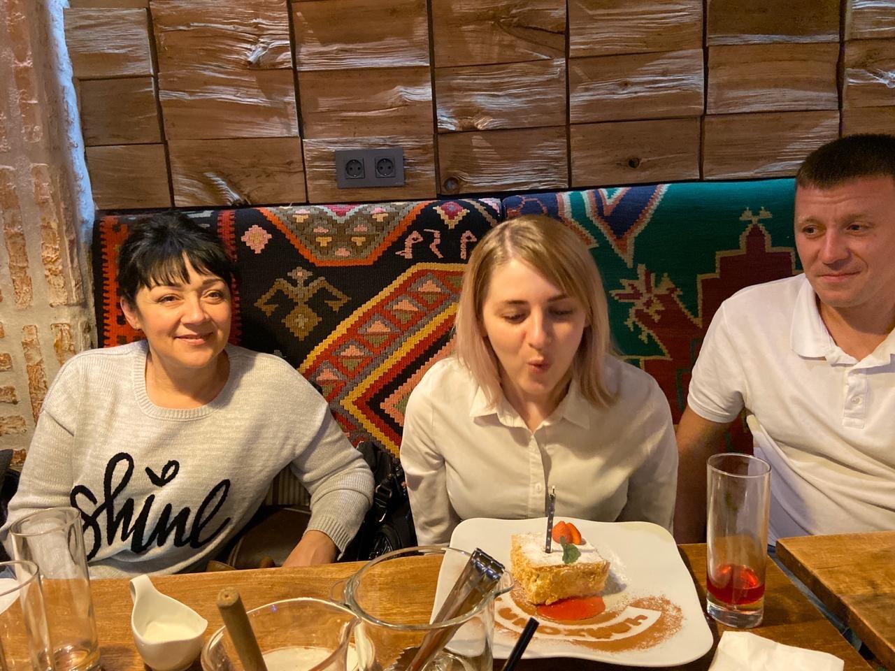 День рождения нашего волонтера Алевтины