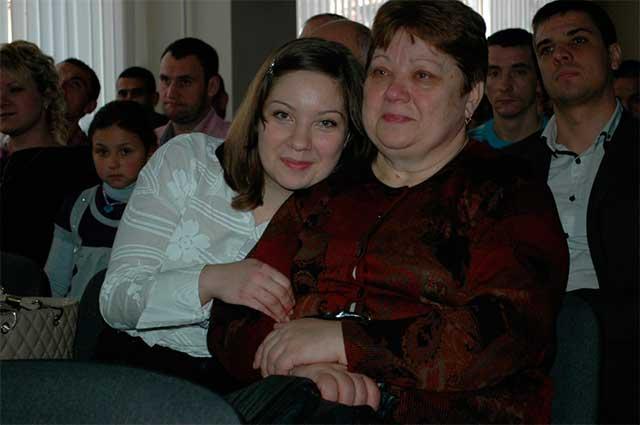 Встреча с родителями и близкими